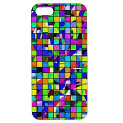 Colorful Squares Pattern                       Apple Iphone 4/4s Hardshell Case With Stand by LalyLauraFLM