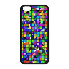 Colorful Squares Pattern                       Iphone 5s Premium Hardshell Case by LalyLauraFLM