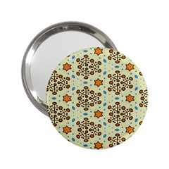 Stars And Other Shapes Pattern                               2 25  Handbag Mirror by LalyLauraFLM