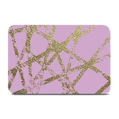 Modern,abstract,hand Painted, Gold Lines, Pink,decorative,contemporary,pattern,elegant,beautiful Plate Mats by 8fugoso