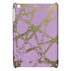 Modern,abstract,hand Painted, Gold Lines, Pink,decorative,contemporary,pattern,elegant,beautiful Apple Ipad Mini Hardshell Case by 8fugoso