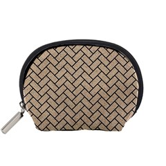 Brick2 Black Marble & Sand Accessory Pouches (small)  by trendistuff