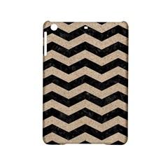 Chevron3 Black Marble & Sand Ipad Mini 2 Hardshell Cases by trendistuff