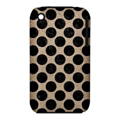 Circles2 Black Marble & Sand Iphone 3s/3gs by trendistuff
