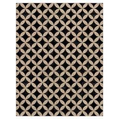 Circles3 Black Marble & Sand (r) Drawstring Bag (large) by trendistuff