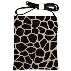 Skin1 Black Marble & Sand Shoulder Sling Bags by trendistuff