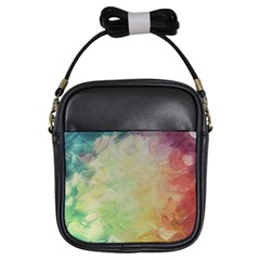Painted Canvas                                 Girls Sling Bag by LalyLauraFLM