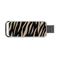 Skin3 Black Marble & Sand (r) Portable Usb Flash (two Sides) by trendistuff