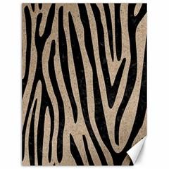 Skin4 Black Marble & Sand (r) Canvas 12  X 16   by trendistuff