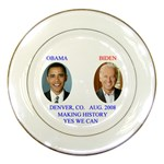obama-biden 2008 Porcelain Plate