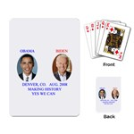 obama-biden 2008 Playing Cards Single Design