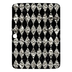 Diamond1 Black Marble & Silver Foil Samsung Galaxy Tab 3 (10 1 ) P5200 Hardshell Case  by trendistuff