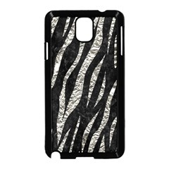 Skin3 Black Marble & Silver Foil (r) Samsung Galaxy Note 3 Neo Hardshell Case (black) by trendistuff