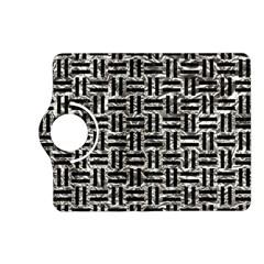 Woven1 Black Marble & Silver Foil Kindle Fire Hd (2013) Flip 360 Case by trendistuff