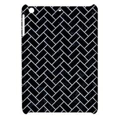 Brick2 Black Marble & Silver Glitter (r) Apple Ipad Mini Hardshell Case by trendistuff