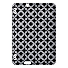 Circles3 Black Marble & Silver Glitter (r) Kindle Fire Hdx Hardshell Case by trendistuff