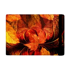 Ablaze With Beautiful Fractal Fall Colors Apple Ipad Mini Flip Case by beautifulfractals