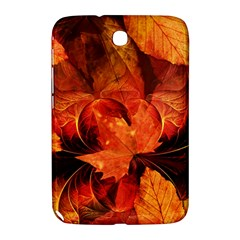 Ablaze With Beautiful Fractal Fall Colors Samsung Galaxy Note 8 0 N5100 Hardshell Case  by beautifulfractals
