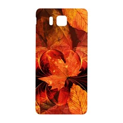 Ablaze With Beautiful Fractal Fall Colors Samsung Galaxy Alpha Hardshell Back Case by beautifulfractals