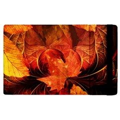 Ablaze With Beautiful Fractal Fall Colors Apple Ipad Pro 12 9   Flip Case by beautifulfractals