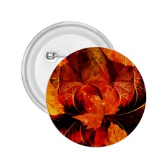 Ablaze With Beautiful Fractal Fall Colors 2 25  Buttons by jayaprime