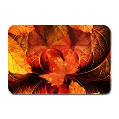 Ablaze With Beautiful Fractal Fall Colors Plate Mats by beautifulfractals