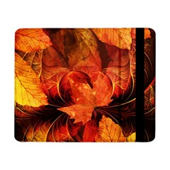 Ablaze With Beautiful Fractal Fall Colors Samsung Galaxy Tab Pro 8 4  Flip Case by beautifulfractals