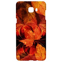 Ablaze With Beautiful Fractal Fall Colors Samsung C9 Pro Hardshell Case  by jayaprime