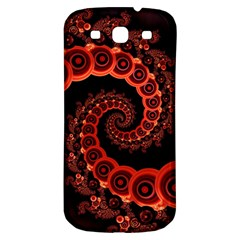 Chinese Lantern Festival For A Red Fractal Octopus Samsung Galaxy S3 S Iii Classic Hardshell Back Case by jayaprime