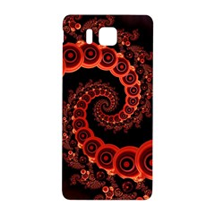 Chinese Lantern Festival For A Red Fractal Octopus Samsung Galaxy Alpha Hardshell Back Case by beautifulfractals