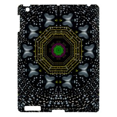 Leaf Earth And Heart Butterflies In The Universe Apple Ipad 3/4 Hardshell Case by pepitasart
