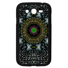 Leaf Earth And Heart Butterflies In The Universe Samsung Galaxy Grand Duos I9082 Case (black) by pepitasart