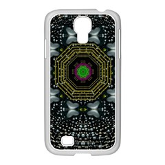 Leaf Earth And Heart Butterflies In The Universe Samsung Galaxy S4 I9500/ I9505 Case (white) by pepitasart
