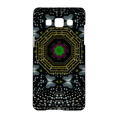 Leaf Earth And Heart Butterflies In The Universe Samsung Galaxy A5 Hardshell Case  by pepitasart