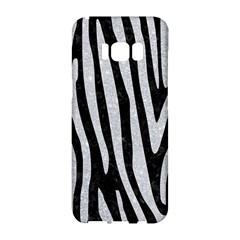 Skin4 Black Marble & Silver Glitter Samsung Galaxy S8 Hardshell Case  by trendistuff