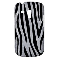 Skin4 Black Marble & Silver Glitter (r) Galaxy S3 Mini by trendistuff