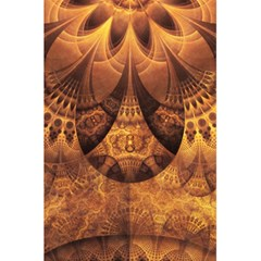 Beautiful Gold And Brown Honeycomb Fractal Beehive 5 5  X 8 5  Notebooks by beautifulfractals