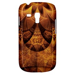 Beautiful Gold And Brown Honeycomb Fractal Beehive Galaxy S3 Mini by jayaprime
