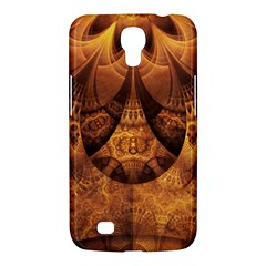 Beautiful Gold And Brown Honeycomb Fractal Beehive Samsung Galaxy Mega 6 3  I9200 Hardshell Case by beautifulfractals