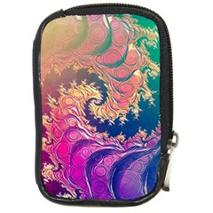 Rainbow Octopus Tentacles In A Fractal Spiral Compact Camera Cases by jayaprime