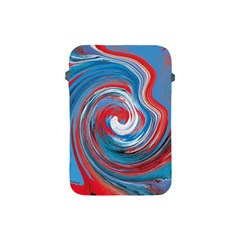 Red And Blue Rounds Apple Ipad Mini Protective Soft Cases by berwies
