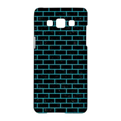 Brick1 Black Marble & Turquoise Colored Pencil (r) Samsung Galaxy A5 Hardshell Case