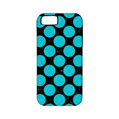 Circles2 Black Marble & Turquoise Colored Pencil (r) Apple Iphone 5 Classic Hardshell Case (pc+silicone) by trendistuff