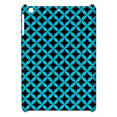 Circles3 Black Marble & Turquoise Colored Pencil (r) Apple Ipad Mini Hardshell Case by trendistuff