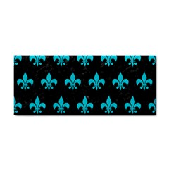 Royal1 Black Marble & Turquoise Colored Pencil Cosmetic Storage Cases by trendistuff