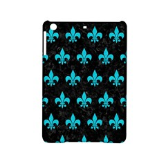 Royal1 Black Marble & Turquoise Colored Pencil Ipad Mini 2 Hardshell Cases by trendistuff
