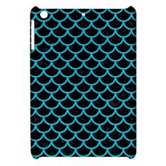 Scales1 Black Marble & Turquoise Colored Pencil (r) Apple Ipad Mini Hardshell Case by trendistuff