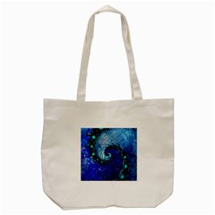 Nocturne Of Scorpio, A Fractal Spiral Painting Tote Bag (cream) by beautifulfractals