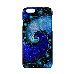 Nocturne Of Scorpio, A Fractal Spiral Painting Apple Iphone 6/6s Hardshell Case by beautifulfractals