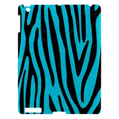Skin4 Black Marble & Turquoise Colored Pencil (r) Apple Ipad 3/4 Hardshell Case by trendistuff
